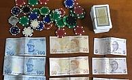 Alanya'da emniyetten kumar baskını!