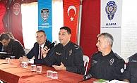 Alanya'da huzur toplantıları devam ediyor
