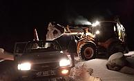Alanya'da karda mansur kalan vatandaşlar kurtarıldı