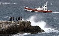Alanya'dan denize açılan göçmenler Kıbrıs açıklarında kurtarıldı