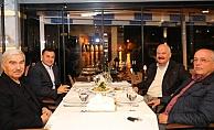 Alanya'nın son 4 belediye başkanı yemekte buluştu