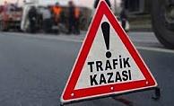 Alanya'da otomobile motosiklet çarpıştı: 1 yaralı!