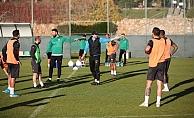 Alanyaspor, Denizli maçı hazırlıklarına başladı