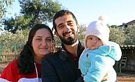Madde bağımlısı çift, minik kızları sayesinde yeni bir hayata başlangıç yaptı