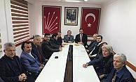 Rektör Kalan'dan CHP'ye ziyaret