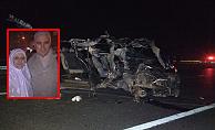 Trafik kazası: 2 ölü, 1 yaralı
