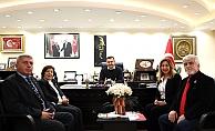 ADD'den Başkan Yücel'e ziyaret