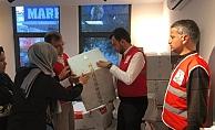 Alanya Ak Parti yardımcıları Elazığ'a gönderdi