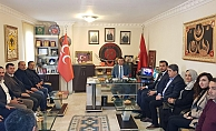 Alanya AK Parti'den MHP'ye ziyaret