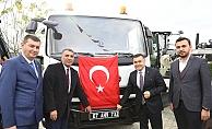 Alanya Belediyesi yeni araçları dualarla hizmete soktu