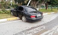 Alanya'da otomobille beton mikseri çarpıştı: 1 ağır yaralı