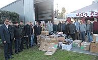 Alanya MHP'den Elazığ'a yardım eli