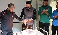 Alanyaspor'da Erol Bulut'a sürpriz kutlama