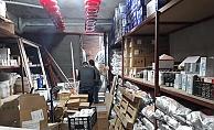 Antalya'da 26 bin 640 kutu tıbbi ürüne el konuldu