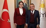 Başkan Böcek, Akşener'i ziyaret etti