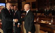 Başkan Çavuşoğlu, Cumhurbaşkanı Erdoğan ile görüştü