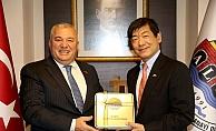 Başkan Şahin, Japonya'nın Türkiye Büyükelçisi'ni ağırladı