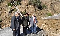 CHP Alanya yönetimi sel bölgesinde