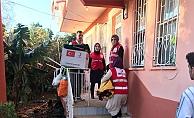 Kızılay'dan Demirtaş'a yardım eli