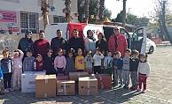 Mahmutlarlı çocuklardan anlamlı yardım