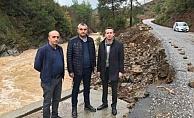 MHP'li meclis üyeleri afet bölgesinde