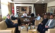Toklu'dan DSİ Bölge Müdürü  Coşkun'a ziyaret