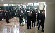Yangın alarmı devreye girdi, hastanede kısa süreli panik yaşandı