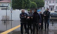 11 ayrı evden hırsızlık yapan 3 şüpheli yakalandı
