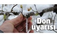 Alanya için don uyarısı!