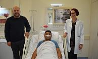 Alanya'da 5 saatlik operasyonla eski sağlığına kavuştu
