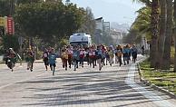 Alanya da okullararası kros yarışı yapıldı