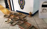 Alanya'da saksı çalan şahıs tutuklandı!