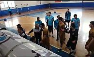 Alanya'da voleybol müsabakasında olaylar çıktı!