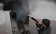 Alanya'da elektrik panosu yangını paniğe yol açtı!
