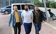 Alanya'da suç makinesi cezaevi firarisi yakalandı!
