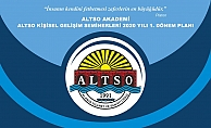 ALTSO Akademi'de seminer programı belli oldu