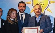 Bakan Çavuşoğlu'ndan Cansevdi'ye teşekkür belgesi!