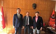 Başkan Toklu, Karayolları bölge müdürünü ziyaret etti