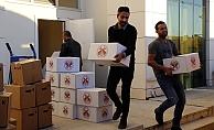 Belediye-vatandaş işbirliğiyle toplanan yardımlar deprem bölgesine gönderildi