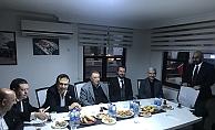 Beşiktaş Başkanı Çebi, Alanya'da derneği ziyaret etti