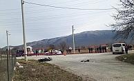 Kazada baba öldü, kızı yaralandı