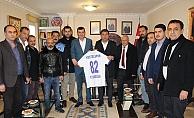 Kestelspor yönetiminden Türkdoğan'a ziyaret
