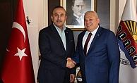 Şahin'den Bakan Çavuşoğlu'na tebrik mesajı!