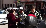 Trafik polisine 'Seninle çok pis uğraşacağım' diyen kadına soruşturma