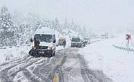 Yola çıkacaklar dikkat! Alanya- Konya karayolu trafiğe kapandı