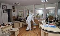 Alanya Belediyesi'nden yoğun koronavirüs önlemi