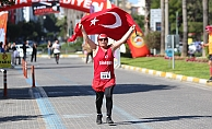 Alanya'da 20. Atatürk Koşusu yapıldı
