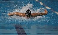 Alanya'da yüzme yarışları başladı