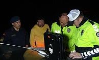 Polis ve jandarmanın 220 promil alkollü sürücüyle imtihanı