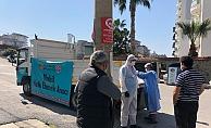 Alanya Belediyesi'nden mobil ekmek hizmeti devam ediyor